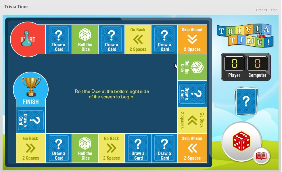 Dice Game using Articulate Storyline