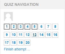Quiz-navigation