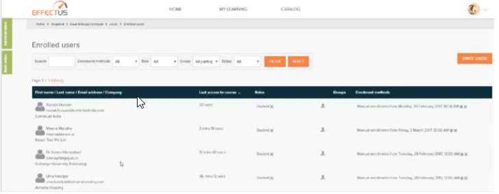 Personalized Dashboards