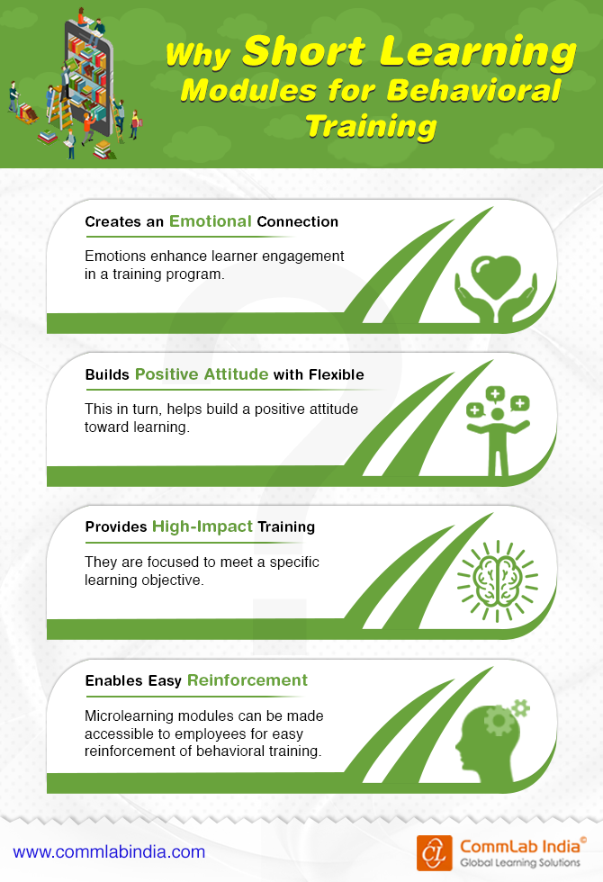 Why Short Learning Modules for Behavioral Training [Infographic]