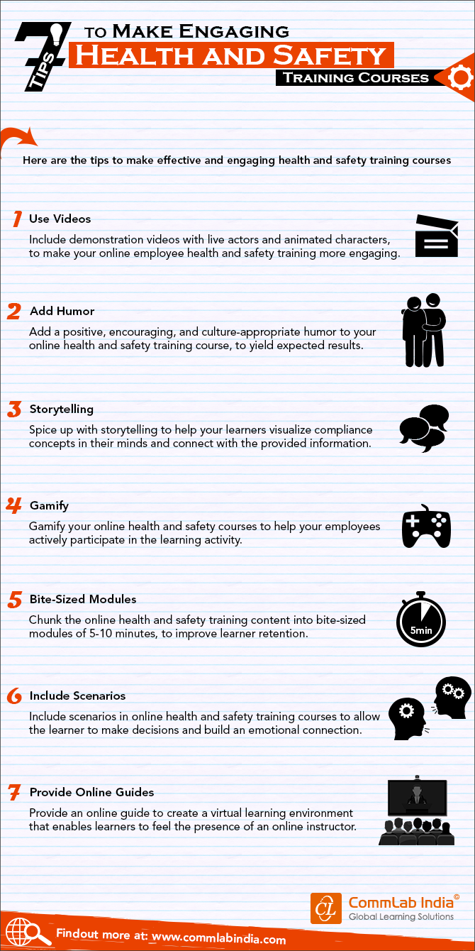 7 Tips to Make Engaging Health and Safety Training Courses [Infographic]