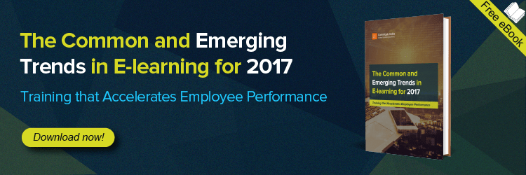 View the E-book on The Common and Emerging Trends in E-learning for 2017