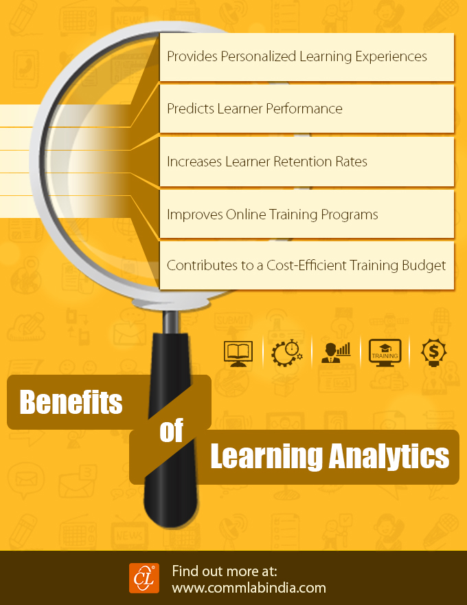 5 Benefits of Learning Analytics [Infographic]