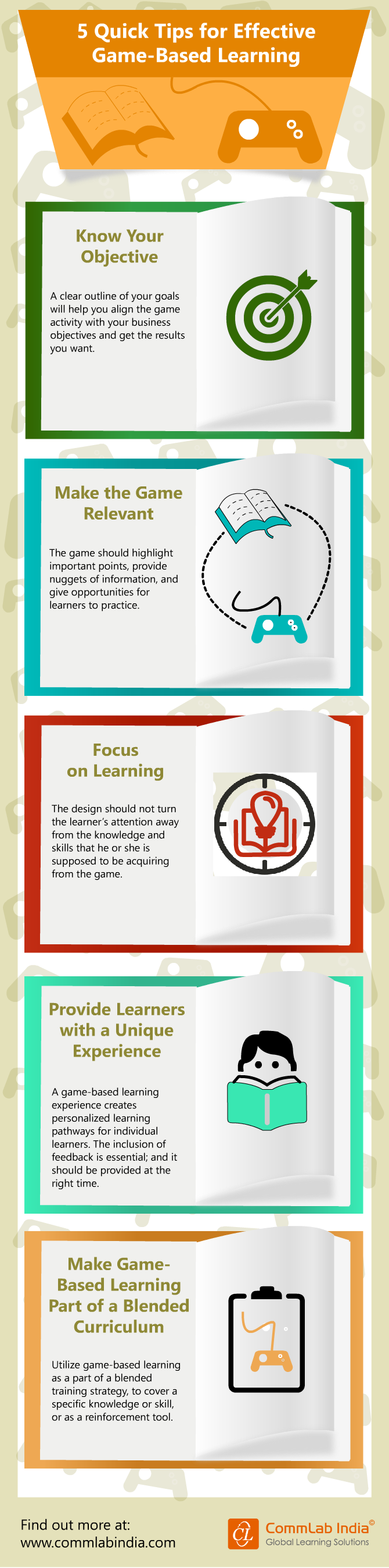 5 Quick Tips for Effective Game-Based Learning [Infographic]