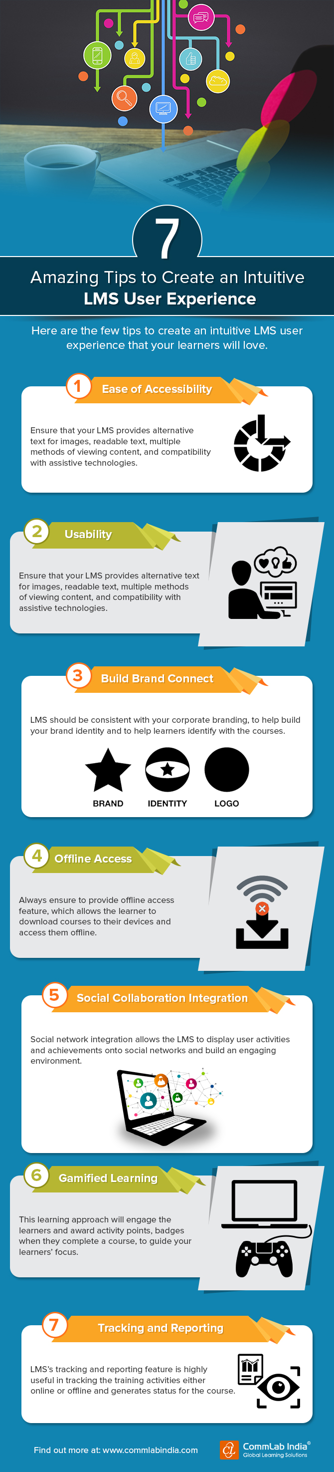 7 Amazing Tips to Create an Intuitive LMS User Experience [Infographic]