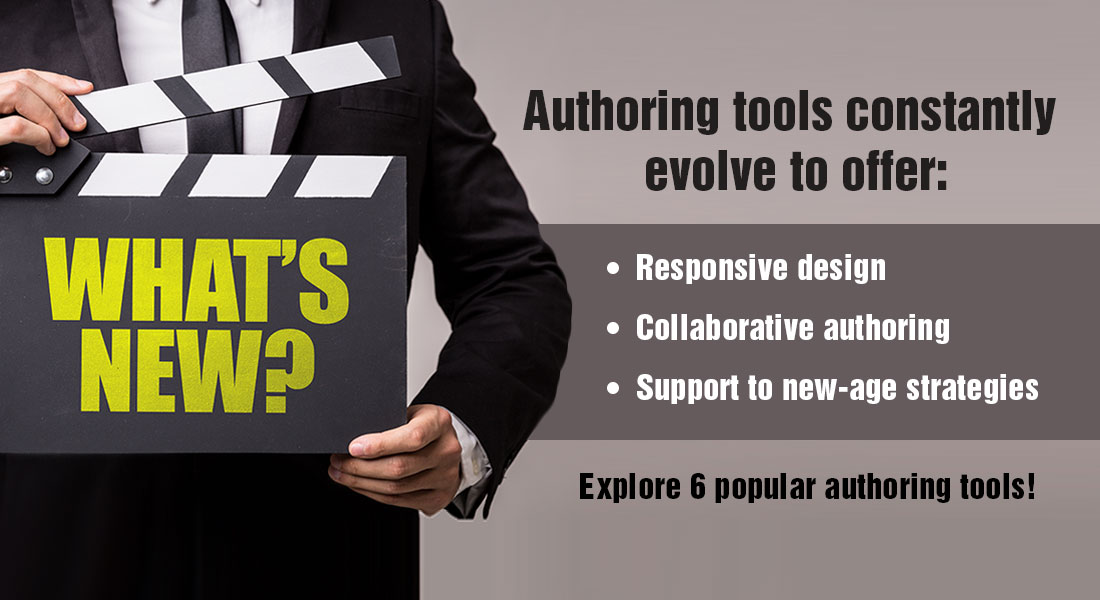 Authoring Tools for Rapid eLearning Development: 6 Options to Choose From