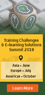 Training Challenges and  E-learning Solutions Summit 2018