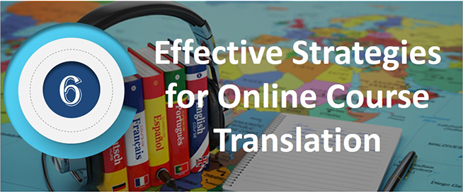 effective-strategies-for-online-course-translation -infographic