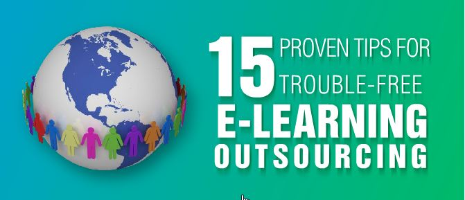 15 Proven Tips For Trouble-Free E-Learning Outsourcing [Infographic]
