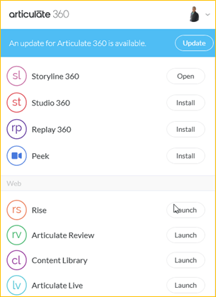Articulate 360 Apps