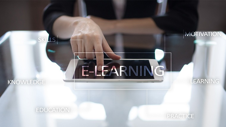 10 Links That Make Up the Chain of E-learning[Infographic]