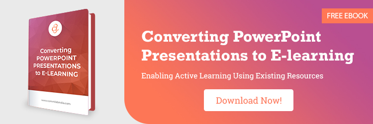 Converting PowerPoint Presentations to E-learning