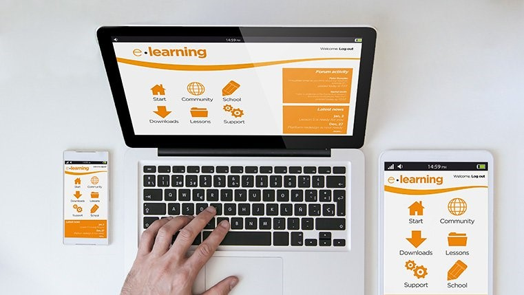 eLearning on multiple devices