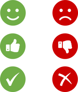 Graphical alternatives for radio buttons
