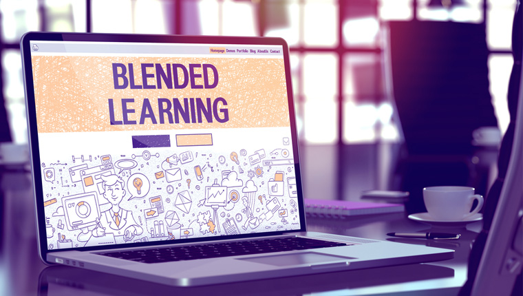 Tips for Implementing Blended Learning [Infographic]