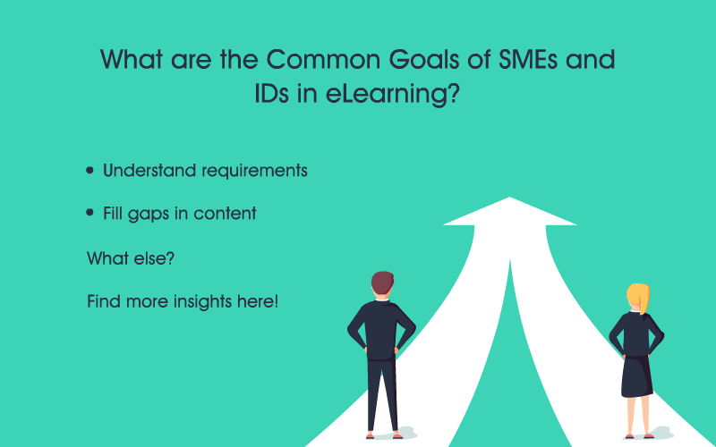 Rapid eLearning Common Goals and Roles of SMEs and IDs