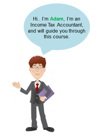 Adam, the Income Tax Accountant