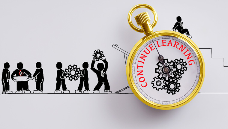 5 Ways to Encourage Continuous Learning through Online Training