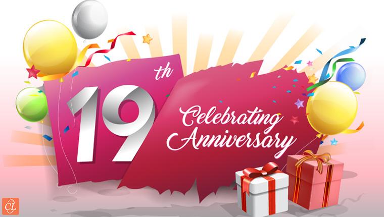 CommLab India – 19th Anniversary Celebrations [Infographic]