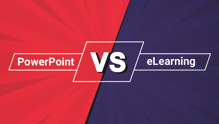 What's More Effective in Online Training? eLearning vs PowerPoint [Infographic]
