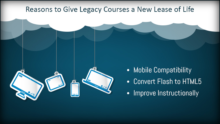 4 Reasons You Must Convert Your Legacy Courses