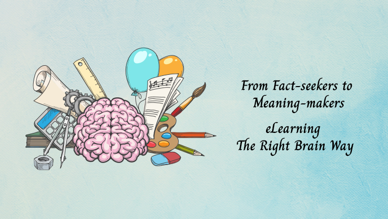 eLearning Design and the Right Brain [Infographic]