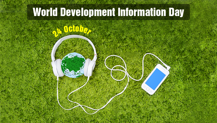 24 October – World Development Information Day [Infographic]