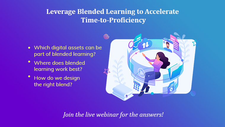 Designing a Blended Learning Framework – Live Webinar by CommLab India