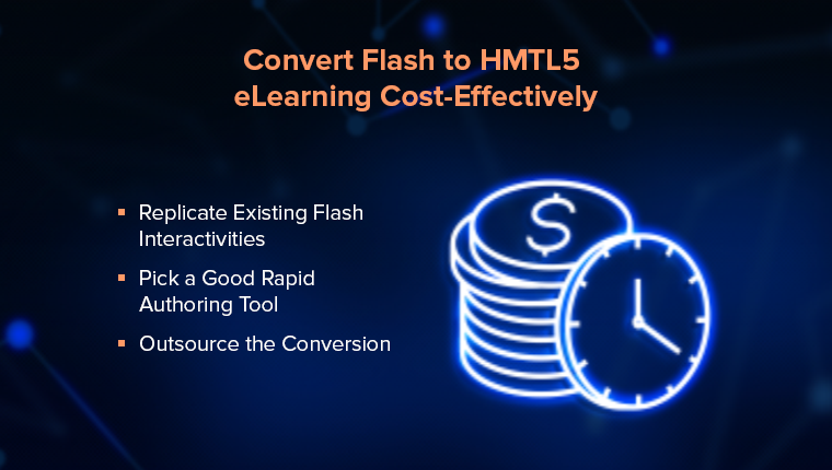 5 Cost-Saving Tips for Your Flash to HTML5 Conversion