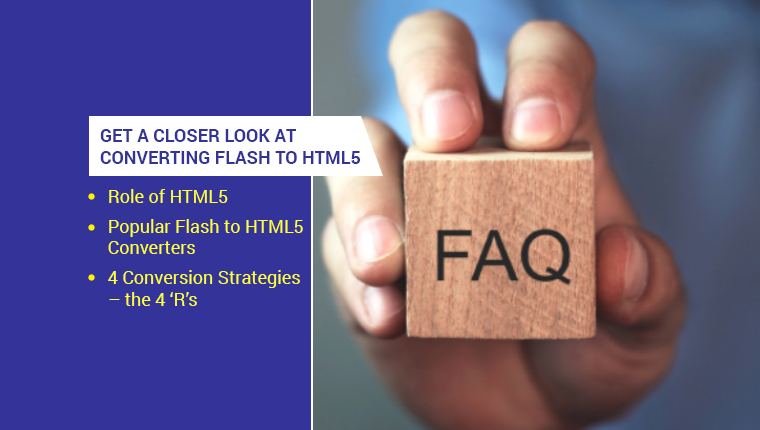 5 Top FAQs on Converting Flash to HTML5