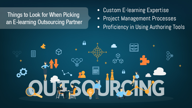 How to Find the Right E-learning Outsourcing Partner? [Infographic]