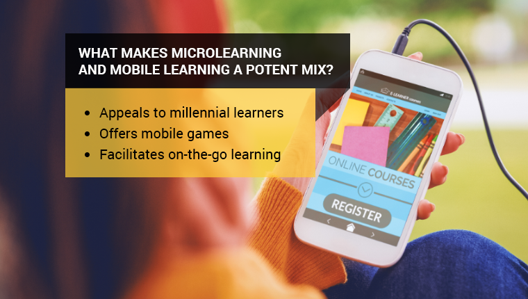 Microlearning and Mobile learning – The Powerful Duo [Infographic]
