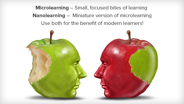 Are Microlearning and Nanolearning the Same?