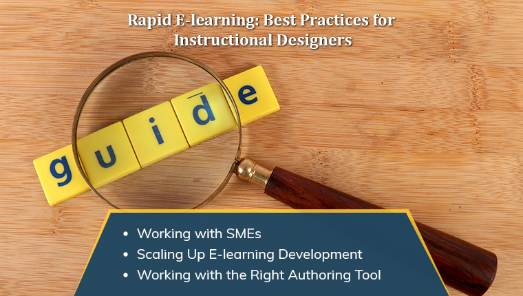 Your Go-to Guide for Successfully Implementing Rapid E-learning Design