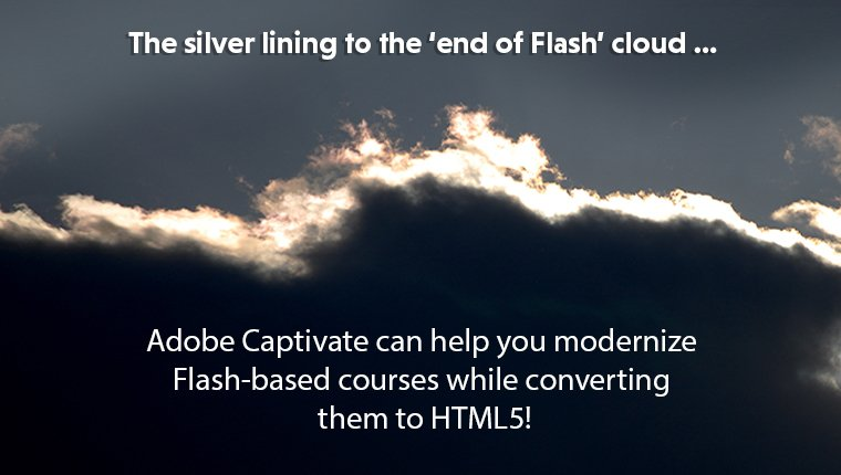 Adobe Captivate for Flash to HTML5 Conversion: 5 Features for New-age Learning