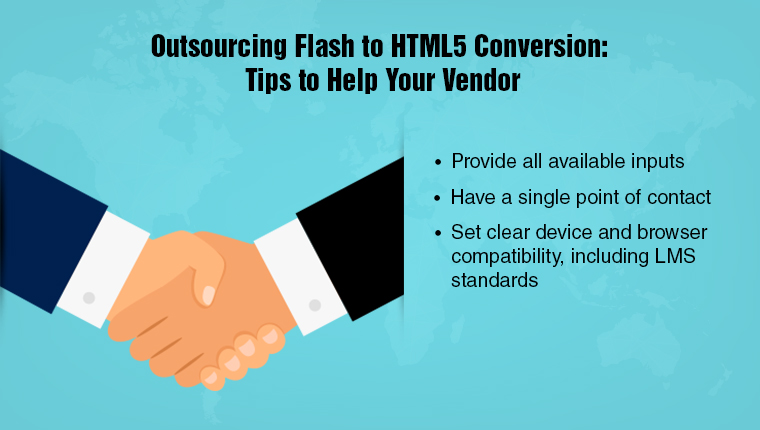 How Can You Smoothen Flash to HTML5 Conversion Outsourcing?