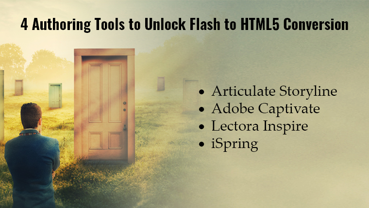 Top 4 Authoring Tools for Flash to HTML5 Conversion [Infographic]