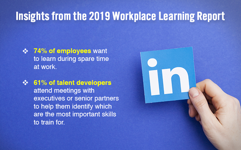 Highlights from the 2019 Workplace Learning Report [Infographic]