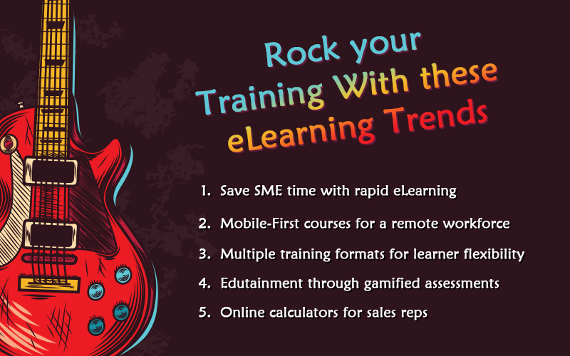 Rock Your Training with These eLearning Trends