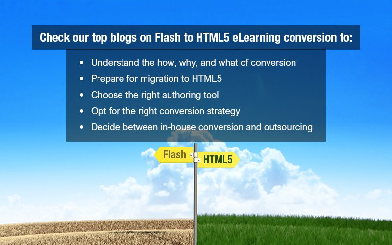 5 Blogs to Keep you Abreast of Flash to HTML5 eLearning Conversion
