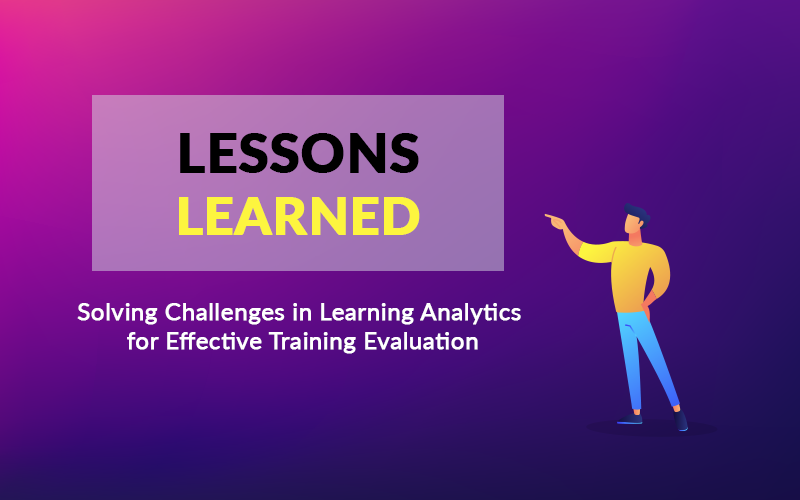 Learning Analytics Challenges that are Roadblocks to Training Evaluation