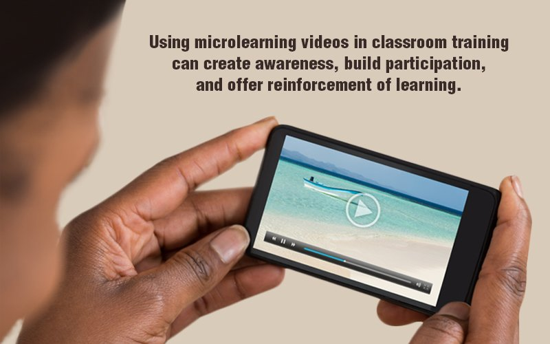 Microlearning Videos to Complement Classroom Training – A Close Look