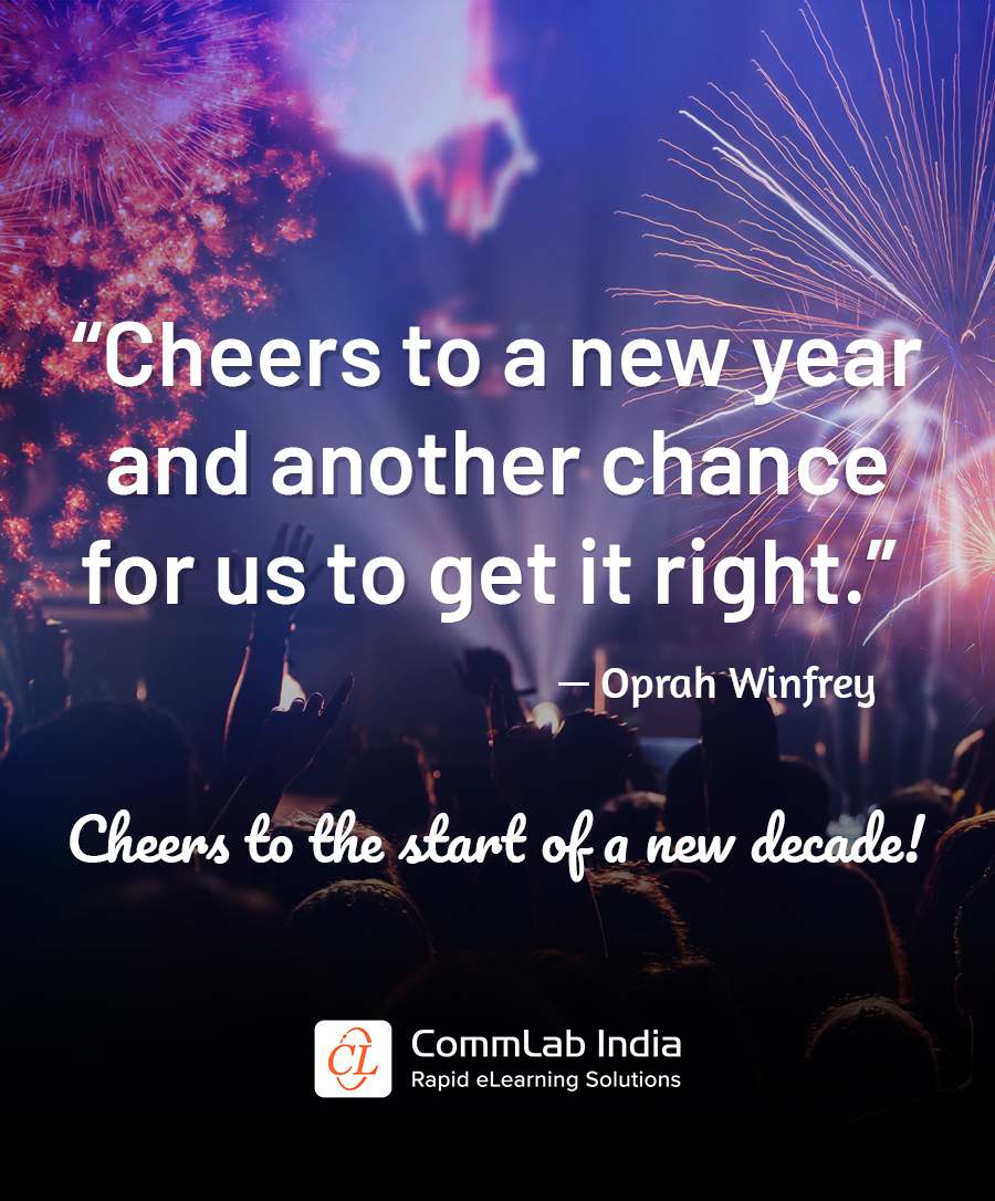 Warm Wishes for the New Year from CommLab India