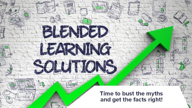 6 Blended Learning Myths Busted [Infographic]