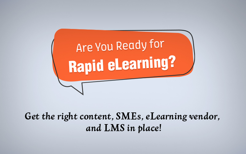 Are You Ready for Rapid eLearning? [Infographic]