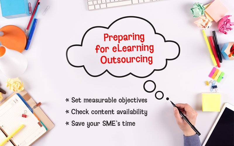 eLearning Outsourcing: 3 Pre-Work Tasks to Save Time