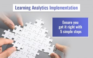 Learning Analytics Implementation for Online Training: 5 Steps to Follow