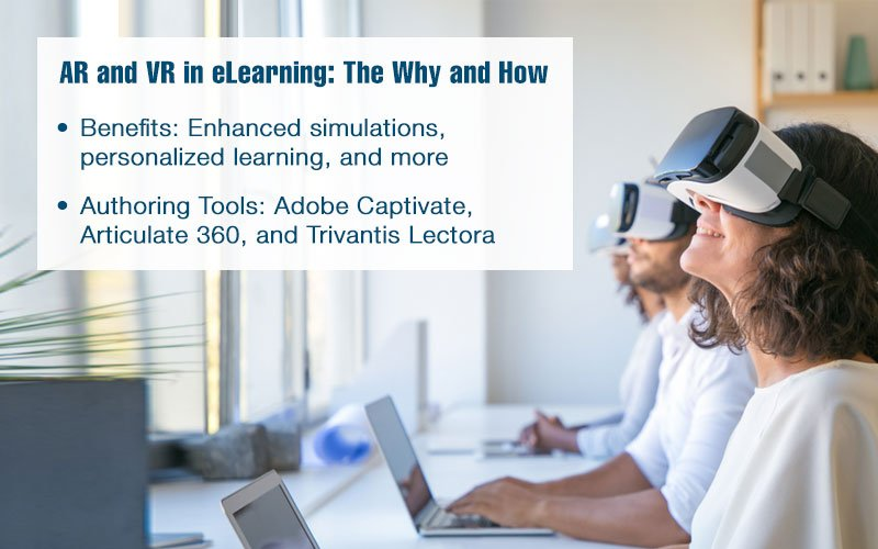 The Best of Authoring Tools for AR and VR in E-learning