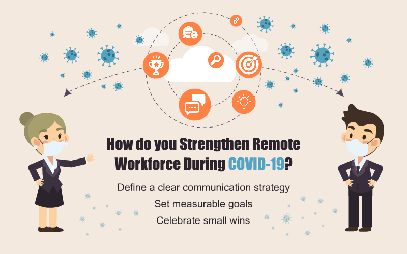 Remote Workforce During COVID-19: Tips to Strengthen and Motivate Them
