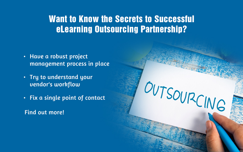 Outsourcing E-learning Development? 5 Tips to Support Your Partner!